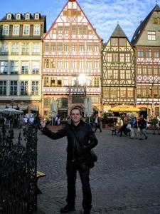 Alemania (Frankfurt) Plaza del Ayuntamiento