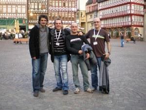 Alemania (Frankfurt) con Bogus Band