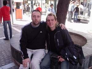 Argentina (Córdoba) con mi amigo Sergio Bonino