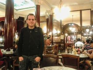Argentina (Buenos Aires), en el café Tortoni (2012)