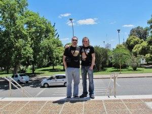 Argentina (San Francisco, Córdoba) con mi gran amigo Sergio Bonino