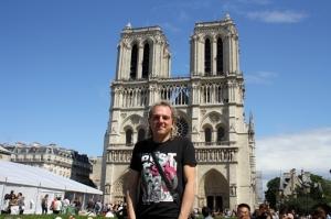 Francia (Paris), Catedral de Notre Dame.