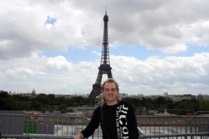 Francia (Paris), Tour Eiffel desde El Trocadero.