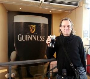 Irlanda (Dublin) Storehouse de Guinnes en el Gravity Bar